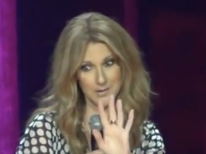 Reporter in Vegas Compares Celine Dion to a Kardashian, Her Reaction, Priceless