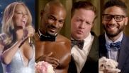 Mariah Carey, Tyson Beckford, Jeff Beacher, Jussie Smollett