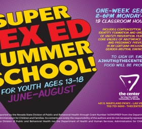 Super Sex Ed Summer School