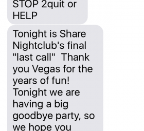 Share Nightclub Closes